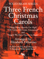 various desavino french christmas carols 3 for brass choirs 10 parts wpercussion 41401 optional 21101