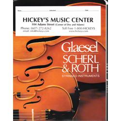 Glaesel Orchestra Theme AV7522 Music Folder, Cardboard