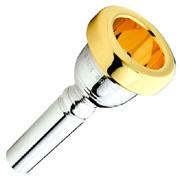 Yamaha 59 Bass Trombone Mouthpiece w/Gold Plated Rim Bass