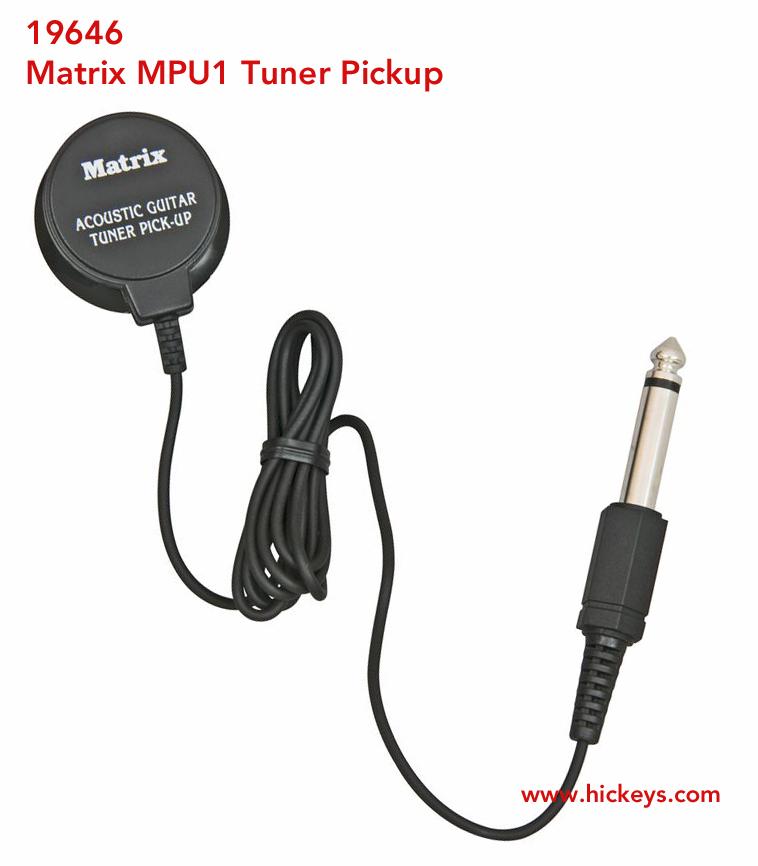 matrix mpu 1 tuner pickup microphone guitar tuners. Black Bedroom Furniture Sets. Home Design Ideas