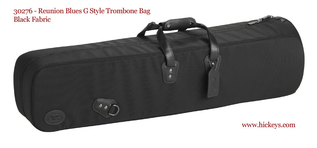 reunion blues trombone gig bag large fabric black. Black Bedroom Furniture Sets. Home Design Ideas
