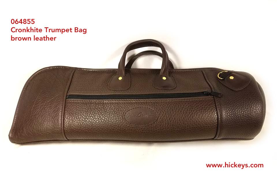 Cronkhite Trumpet Gig Bag Single Leather Brown