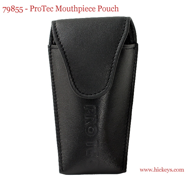 Mouthpiece pouch Crazy Horse Trombone black for 2 mouthpieces