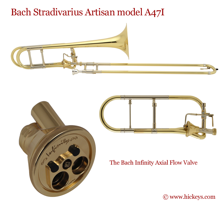 Axial Flow Regulator : Bach a i artisan stradivarius trombone outfit w infinity