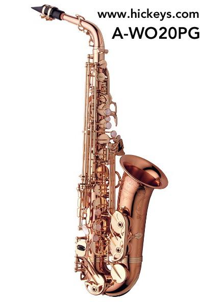 Yanagisawa A-WO20PG Elite Alto Saxophone Outfit - bronze w