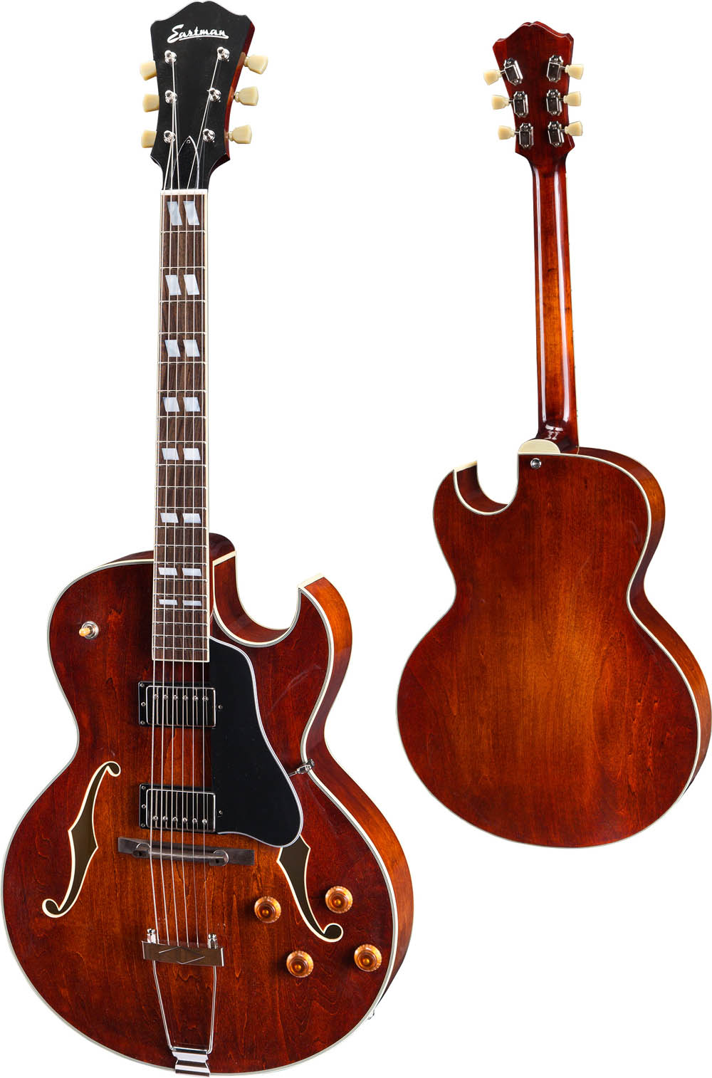 eastman ar372ce cl electric guitar jazz archtop classic finish electric guitars new. Black Bedroom Furniture Sets. Home Design Ideas