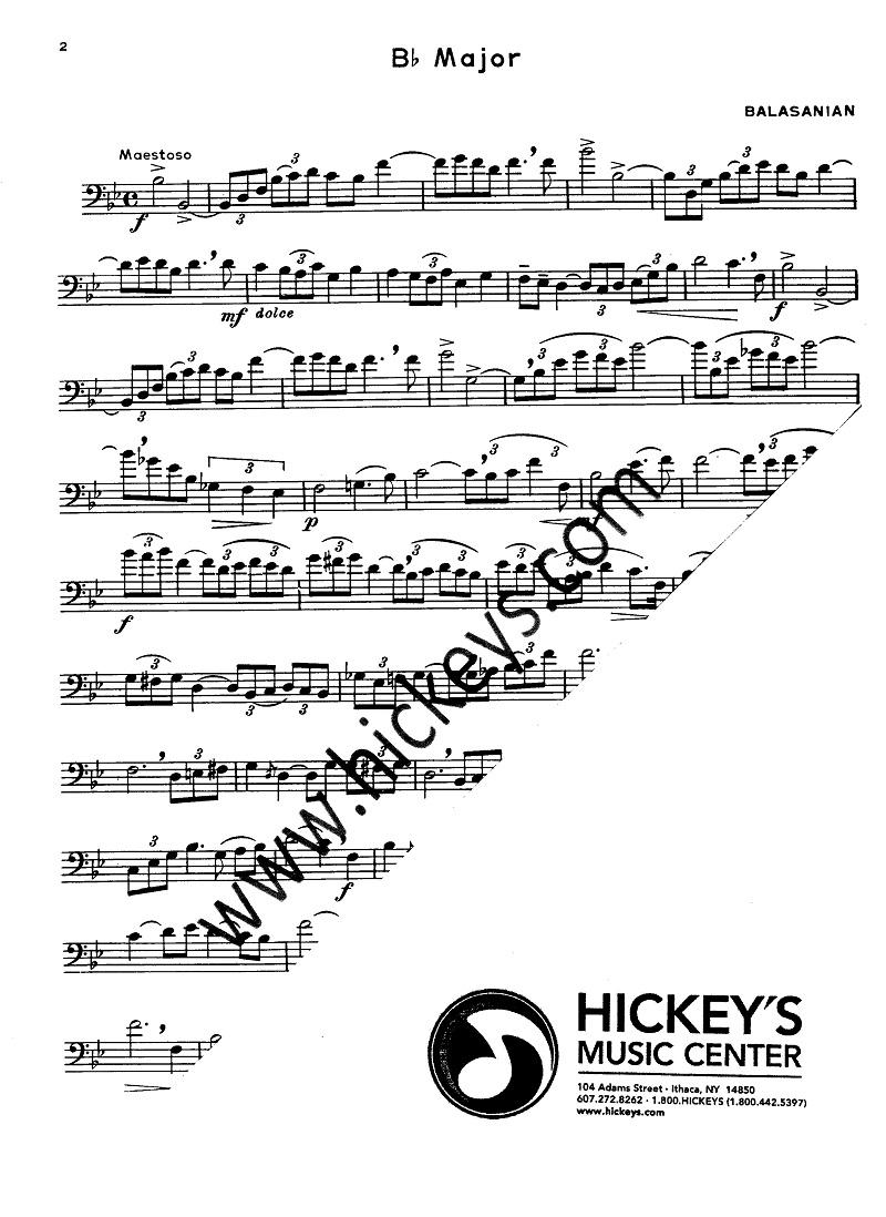 Voxman Heime Selected Studies 60 For Trombone Studies Etudes
