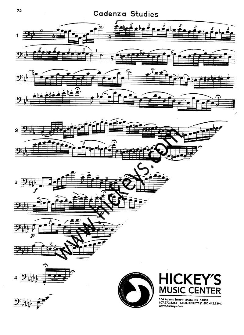 Voxman, Heime Selected Studies (60) for Trombone Studies & Etudes