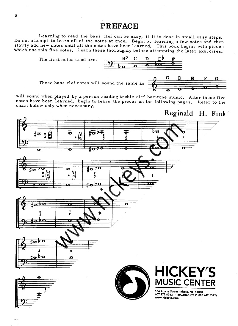 how to read bass clef notes piano