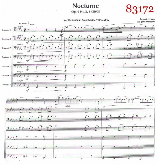 Trombone Septets