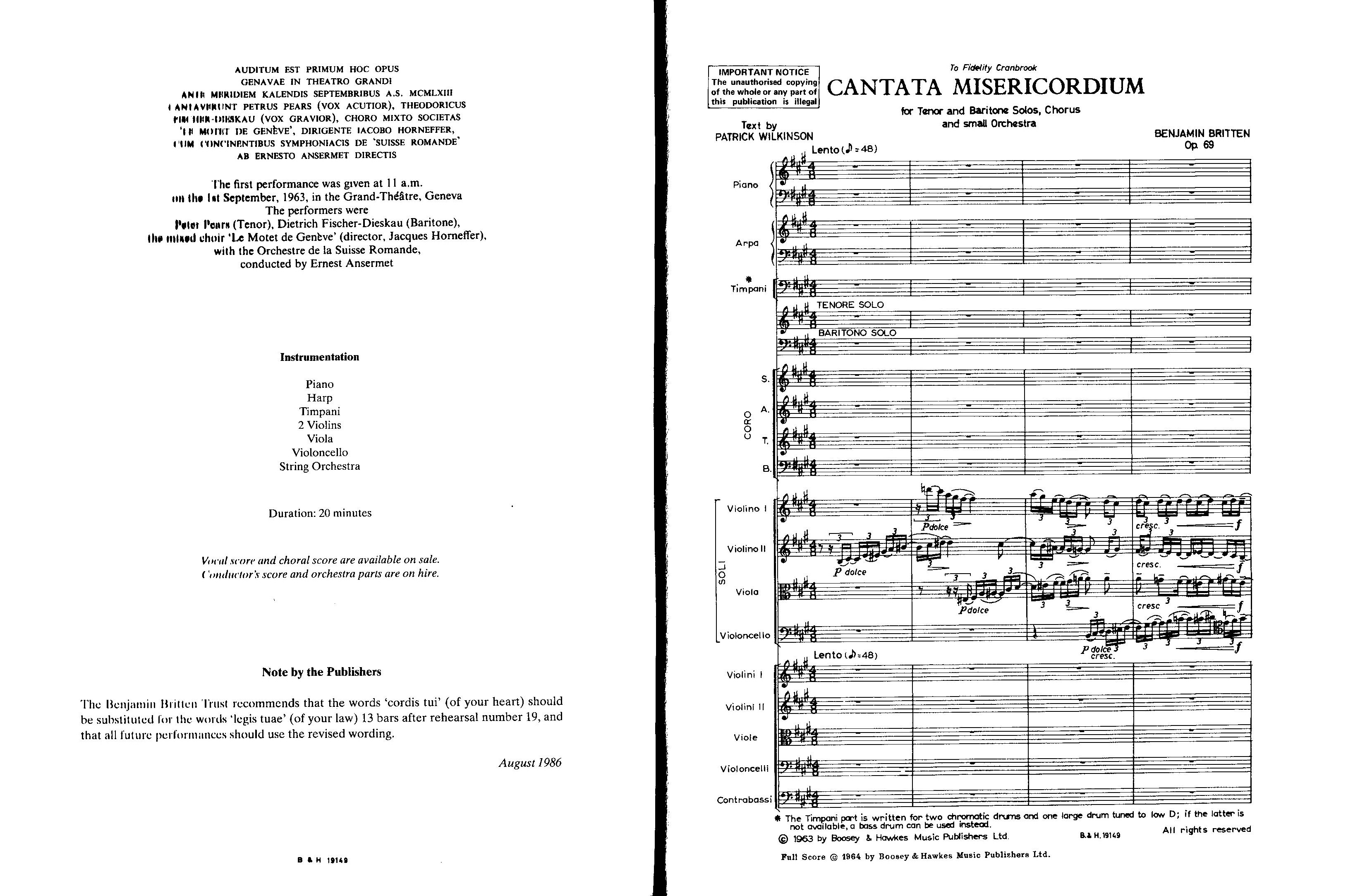 (sample page) Category: Orchestra Study Scores